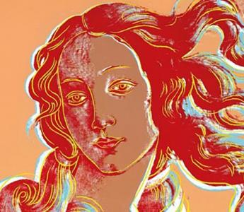 Andy Warhol, Venus after Botticelli, 1984